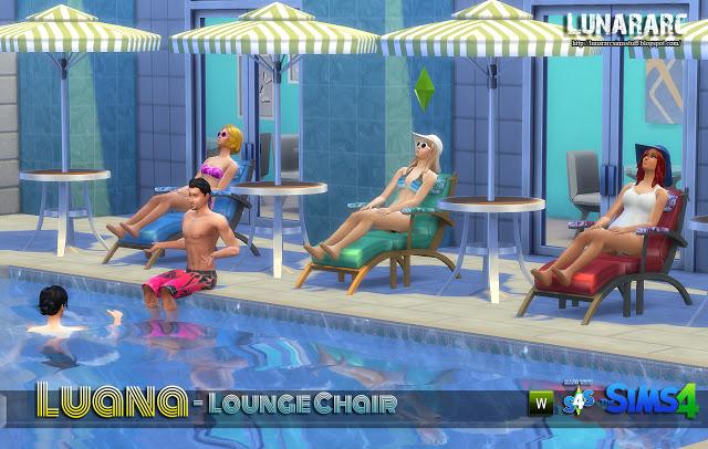 Sedia A Sdraio The Sims.Oggetti Sedie A Sdraio Funzionali By Lunarac Sims Simsworld