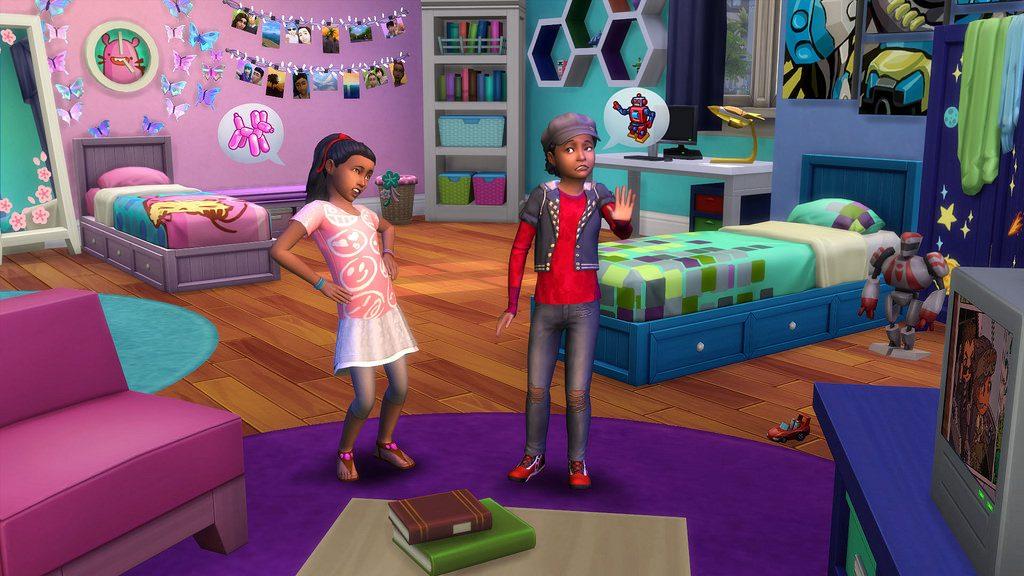 The Sims 4 Stanza dei Bimbi Stuff annuncio