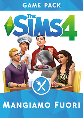 The Sims 4 Mangiamo Fuori Game Pack