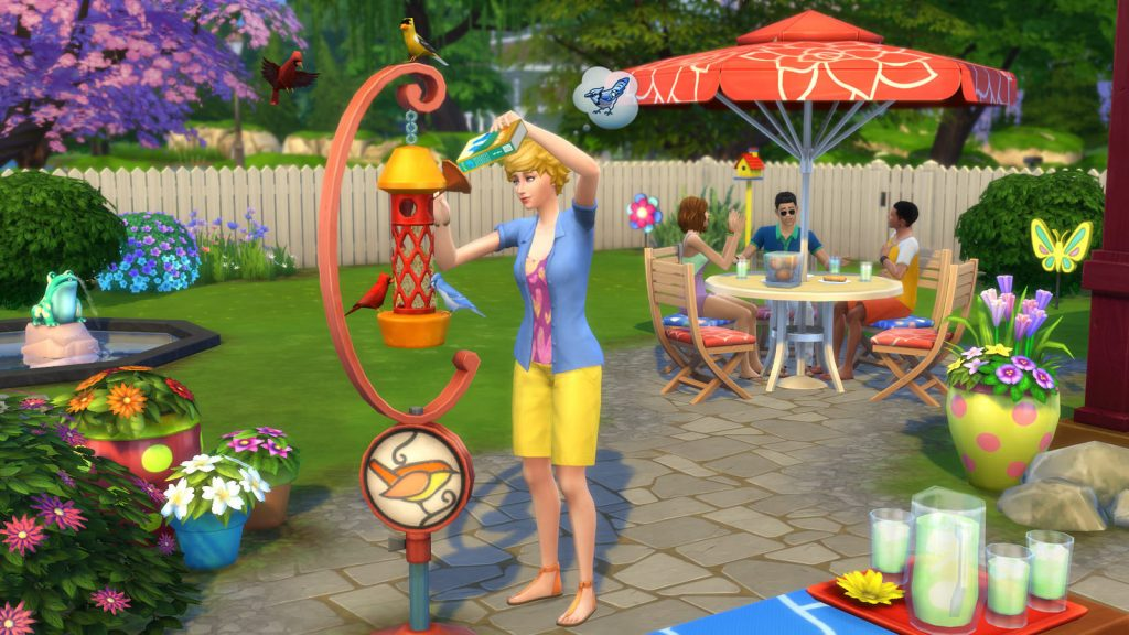 The Sims 4 Divertimento in Cortile Stuff Pack