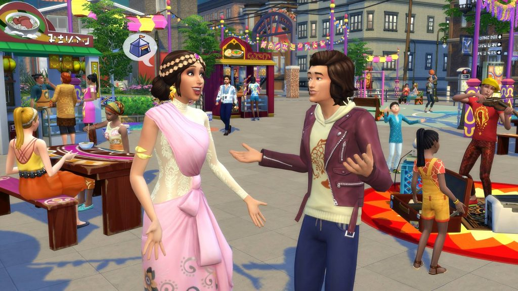 The Sims 4 Vita in Città Expansion Pack*