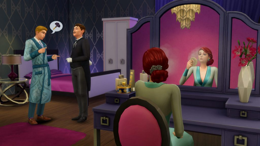 The Sims 4 Vintage Glamour