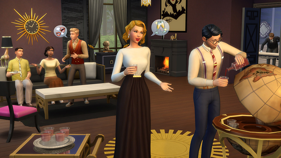 The Sims 4 Vintage Glamour - Andate sul classico
