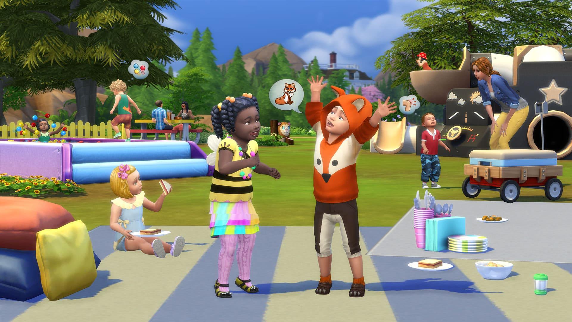 The Sims 4 Bebè Stuff - Immaginazione, costumi e altro ancora!