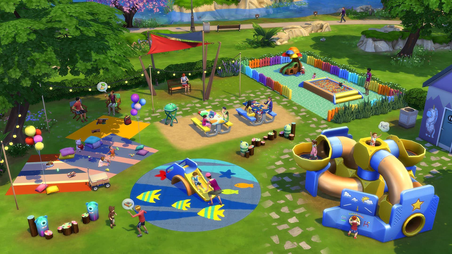 The Sims 4 Bebè Stuff Pack