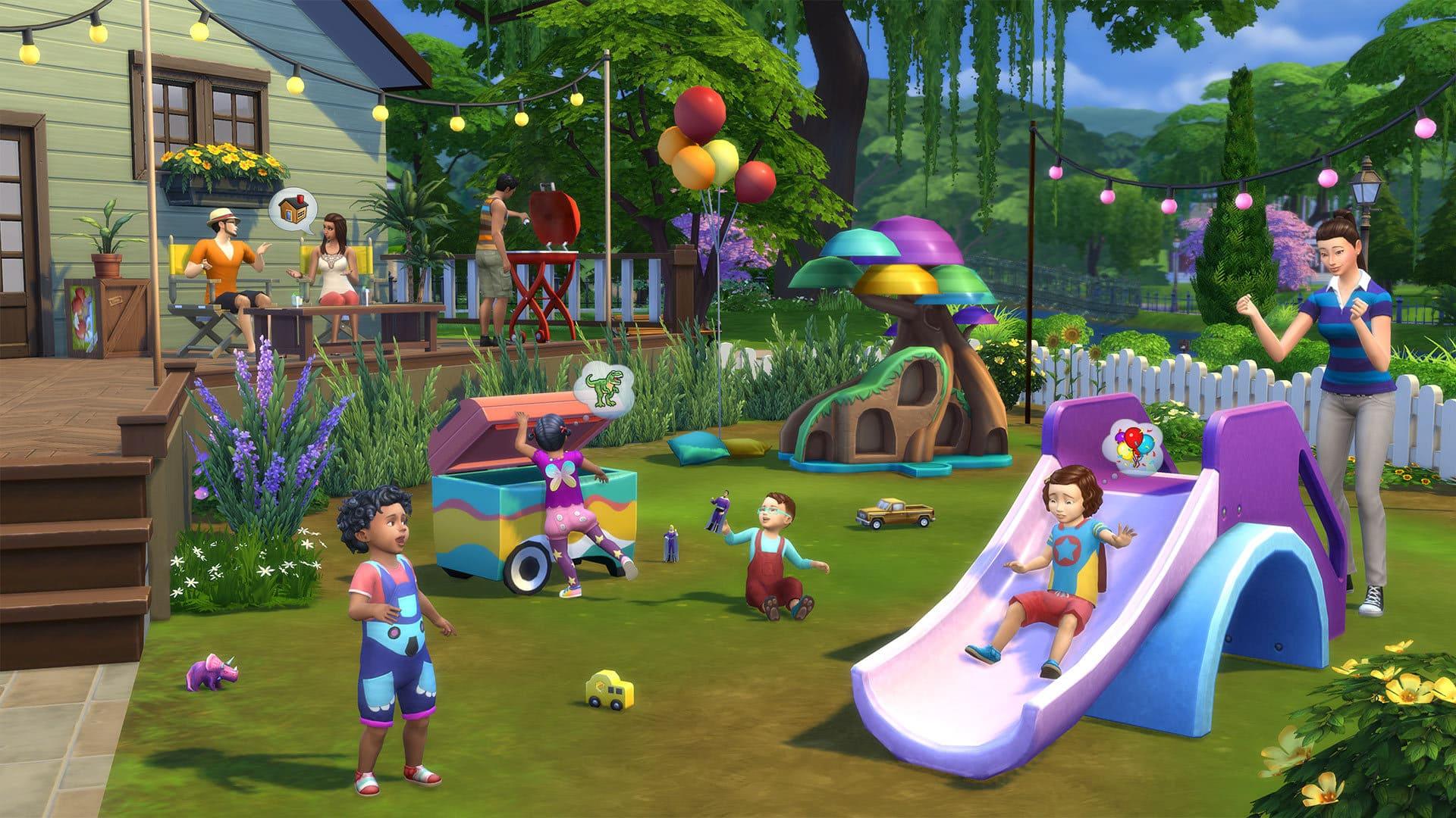 Il mondo dei Sims sta per diventare ancor più adorabile con The Sims 4 Bebè Stuff!