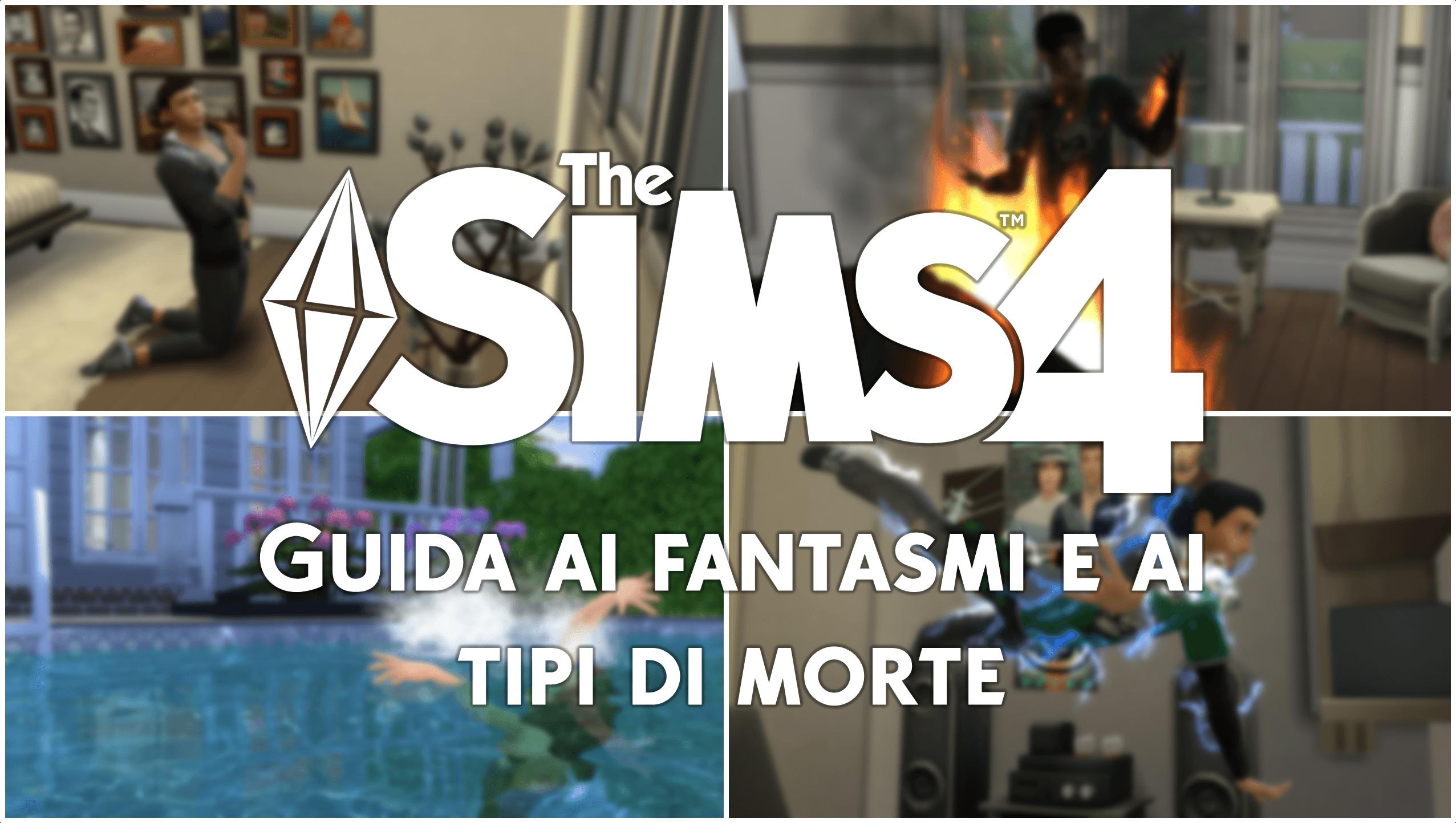 Vasca Da Bagno The Sims Mobile : The sims 4 guida ai fantasmi e ai tipi di morte simsworld