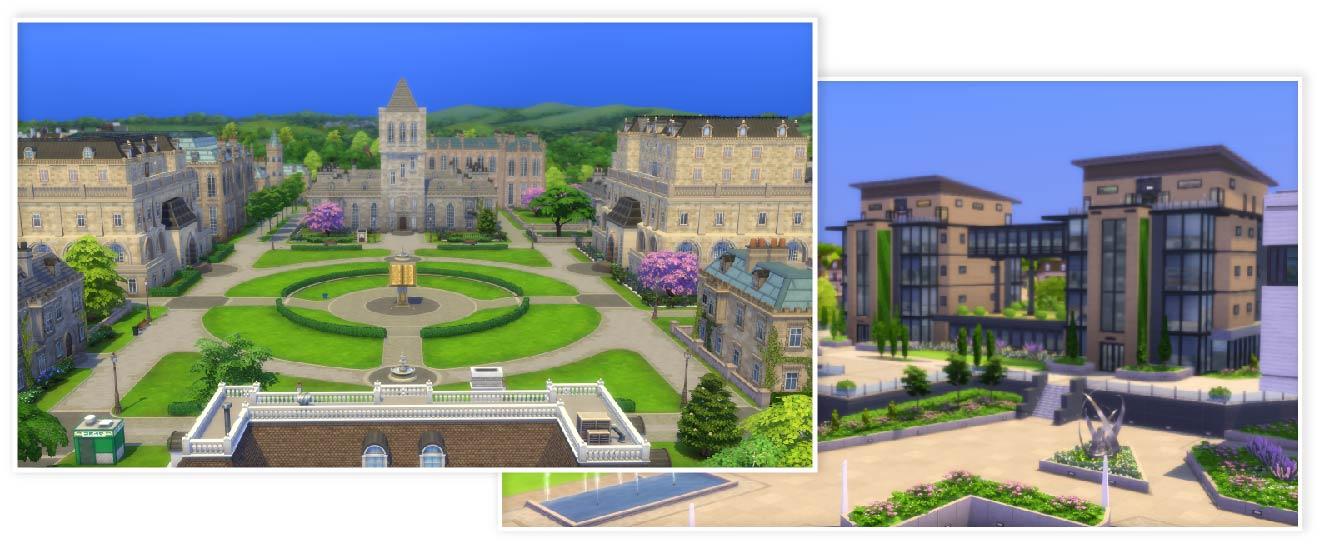 The Sims 4 Vita Universitaria - Come iscriversi all'università & borse di studio