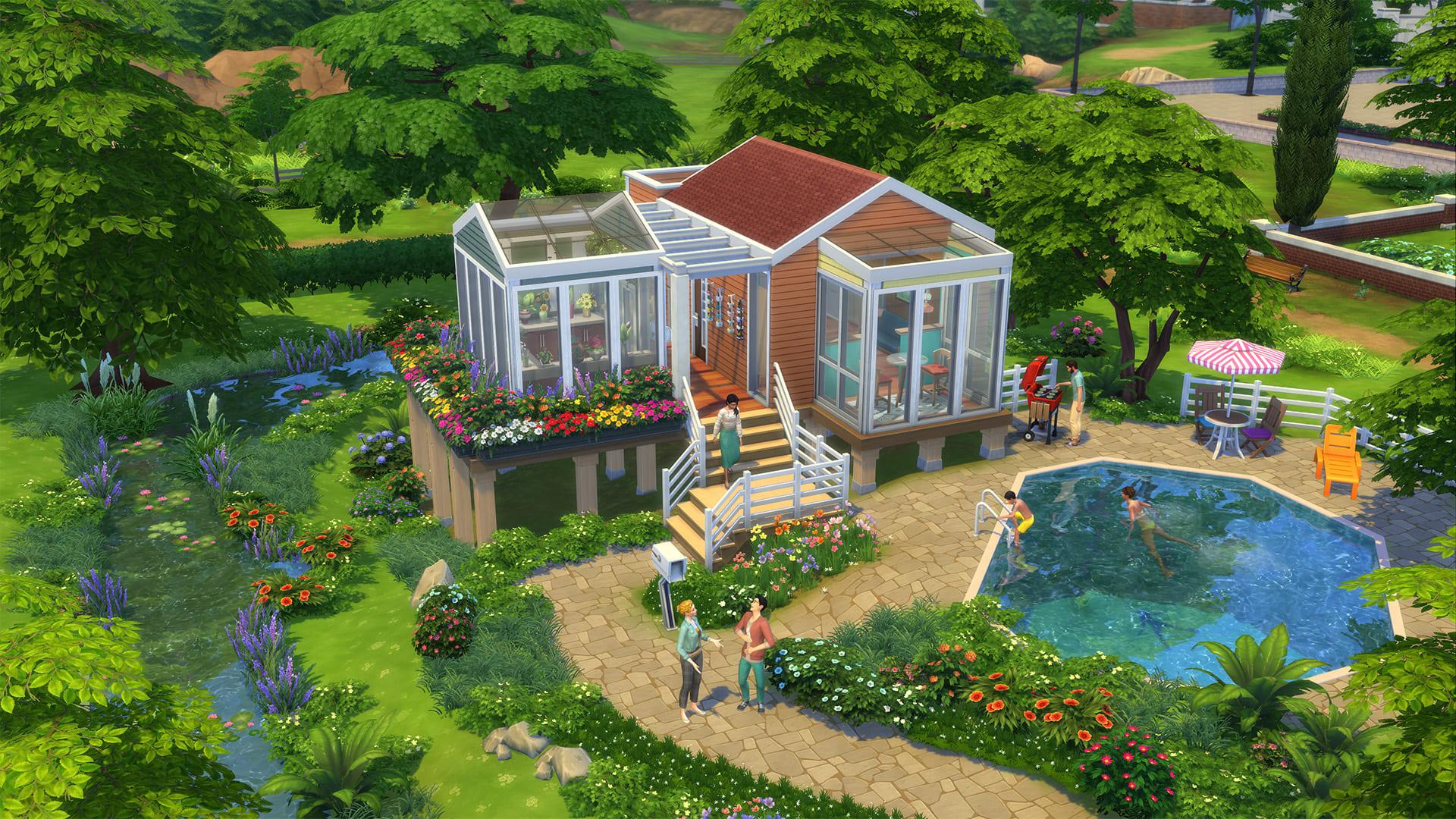 The Sims 4 Mini Case Stuff è ora disponibile per console