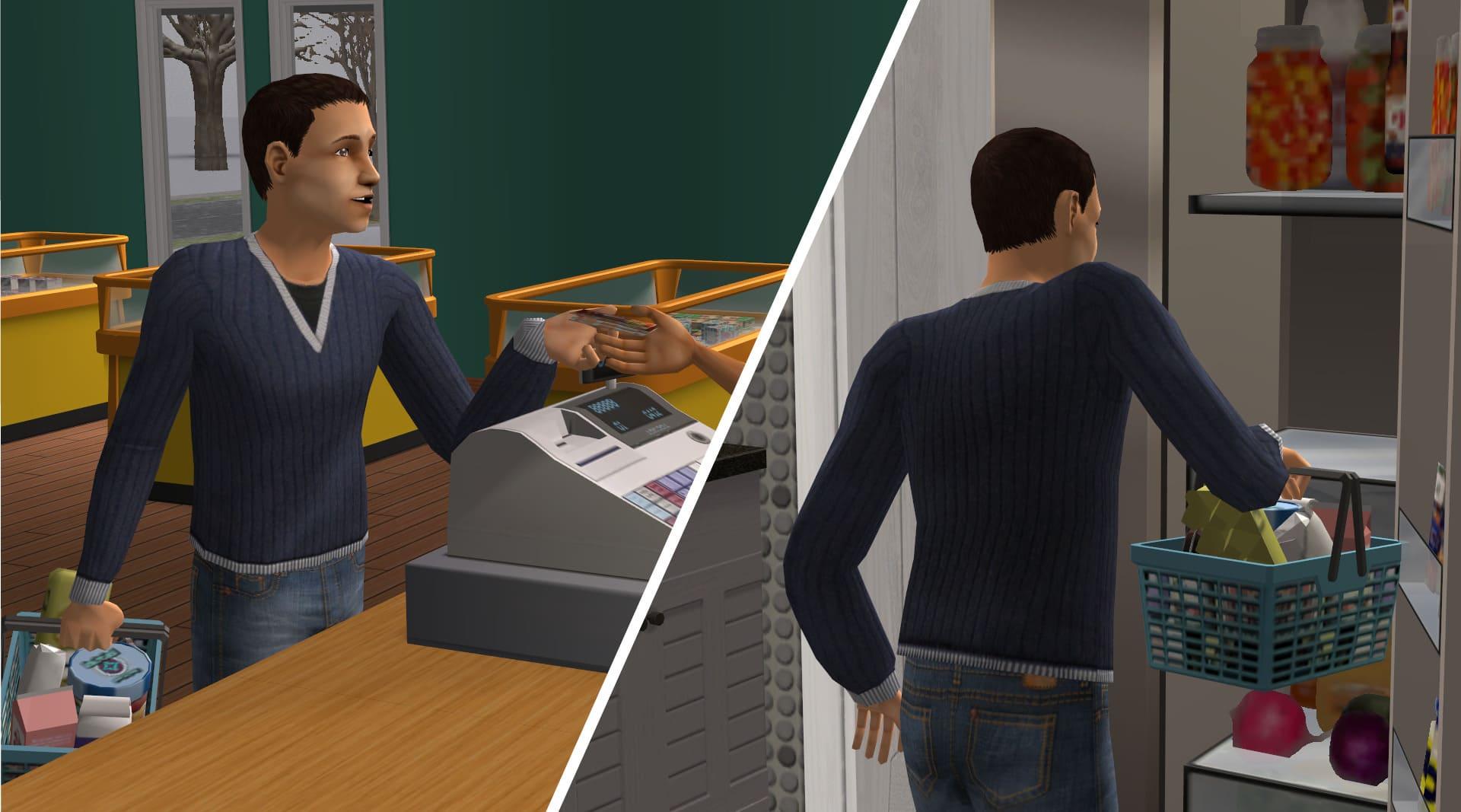 Cinque dettagli di The Sims 2 che ci mancano tutt'oggi - Spesa