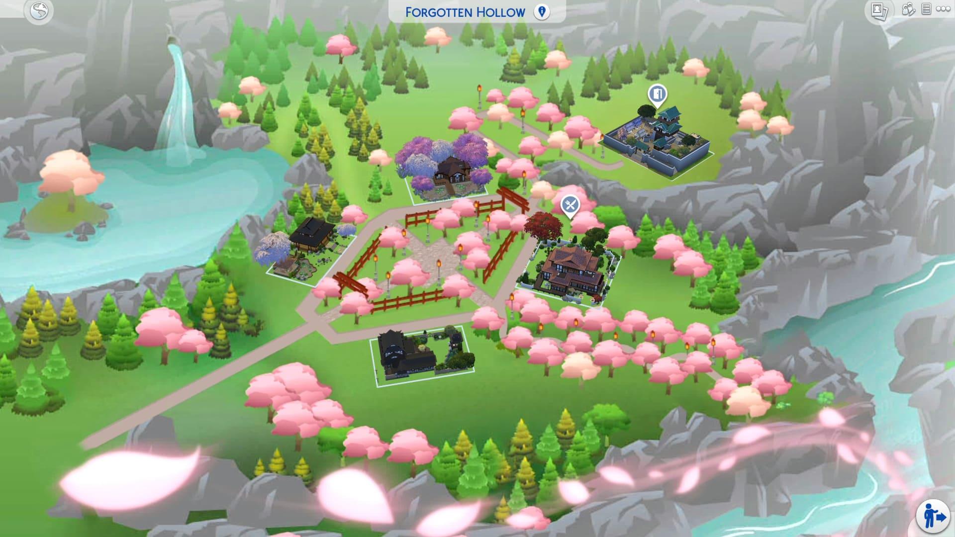 The Sims 4 - Un quartiere asiatico con la Asian Adventures mod!