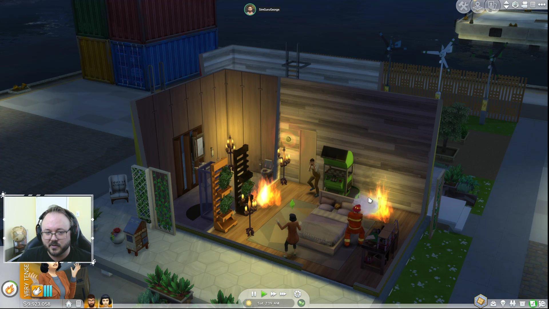 the sims 4 pompieri