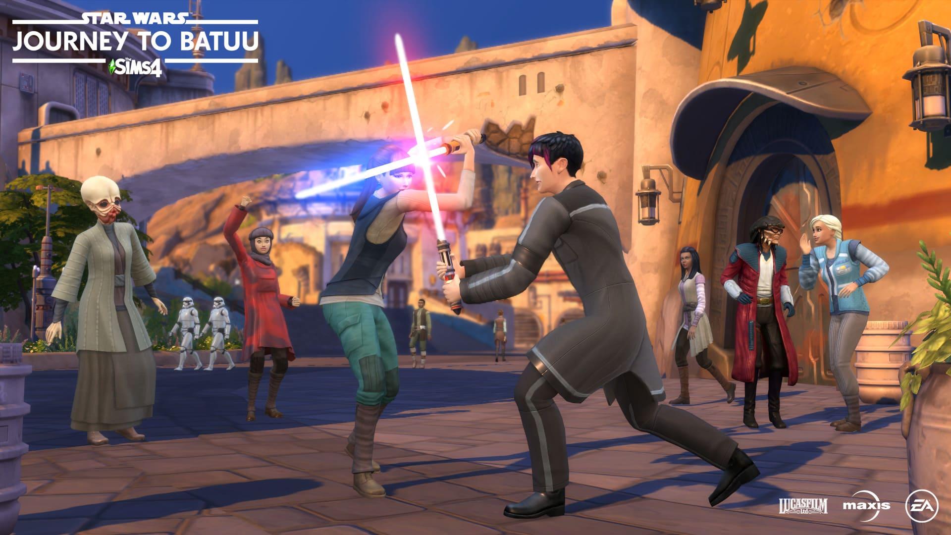 the sims 4 star wars viaggio a batuu informazioni