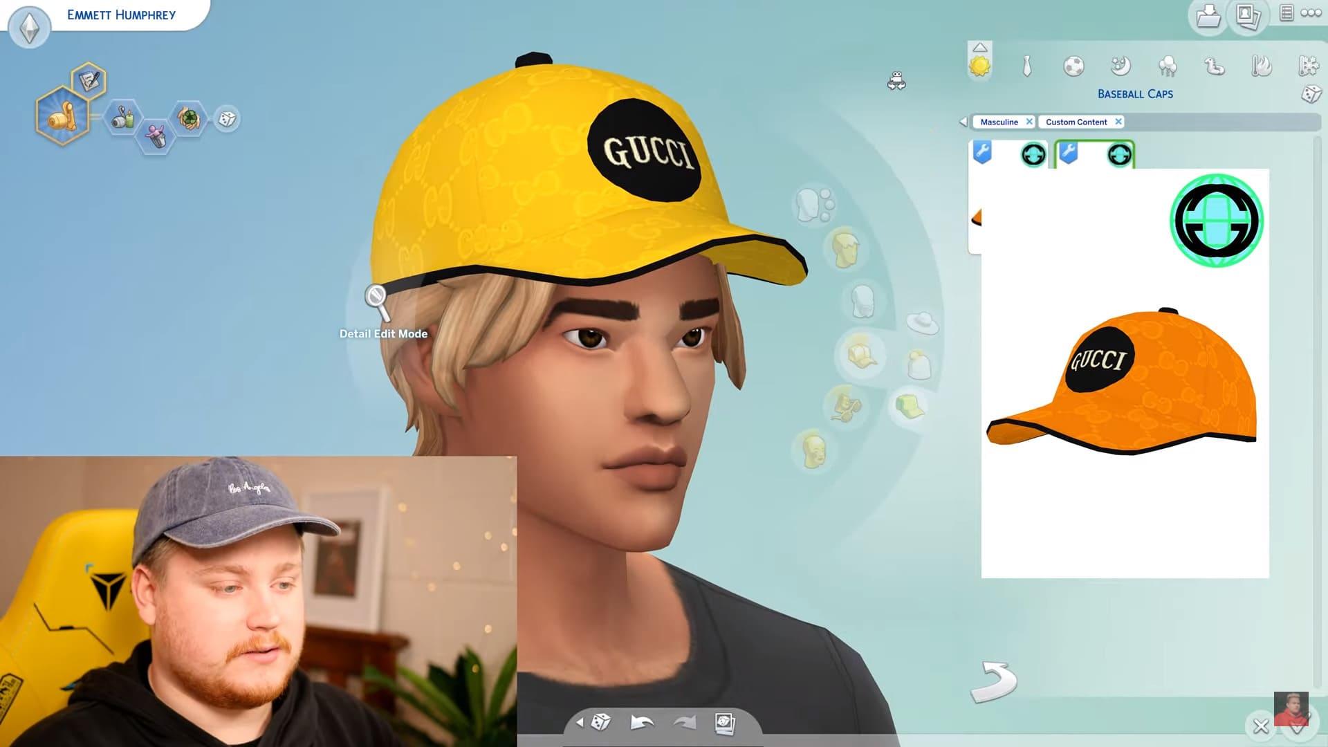 Gucci collabora con un modder di The Sims 4 che pubblica un set a tema