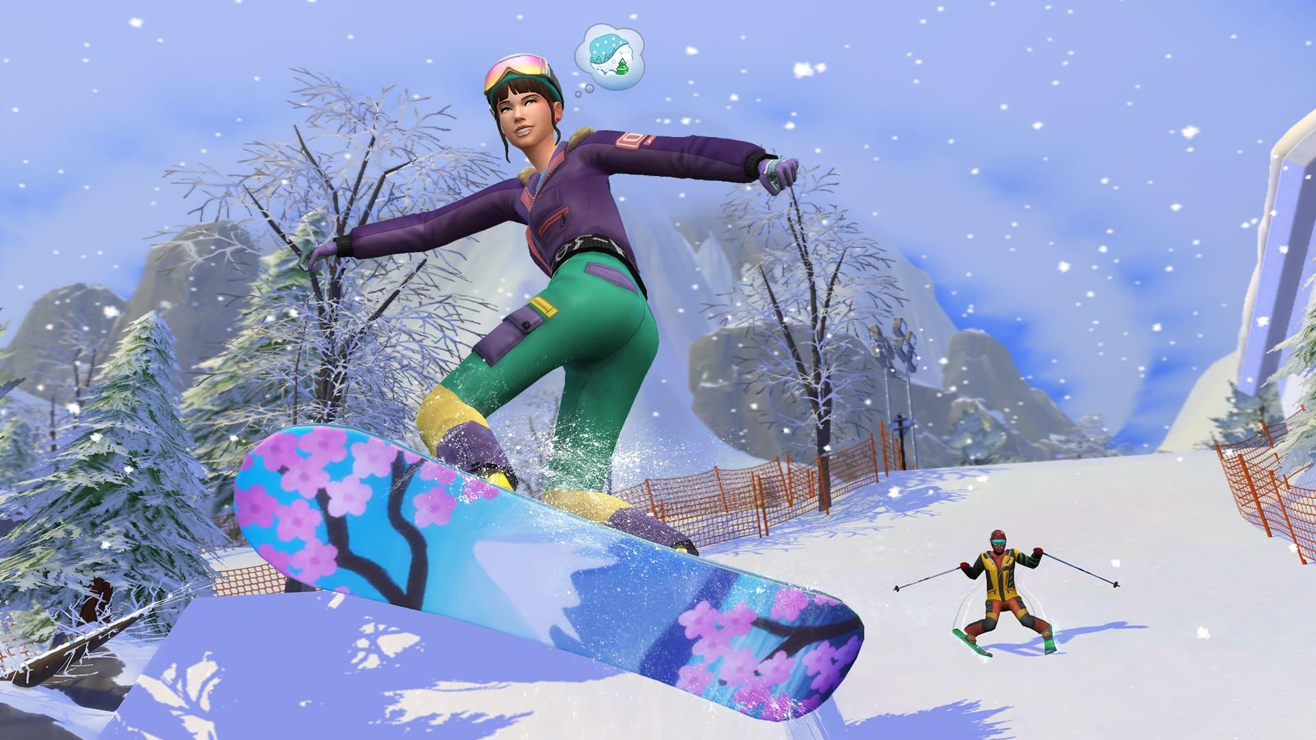 The Sims 4 Oasi Innevata - Immagini, caratteristiche & data d'uscita