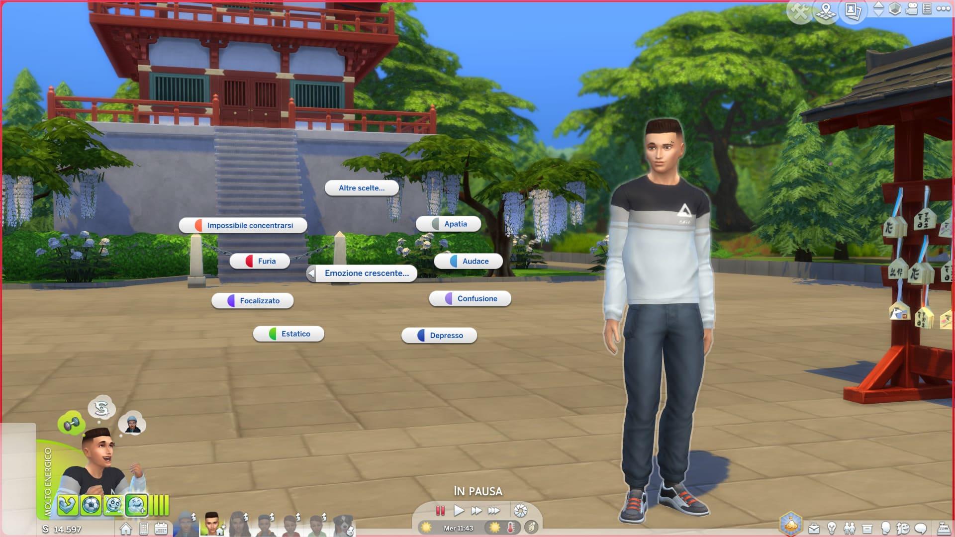 The Sims 4 Oasi Innevata - Come controllare le emozioni dei Sims