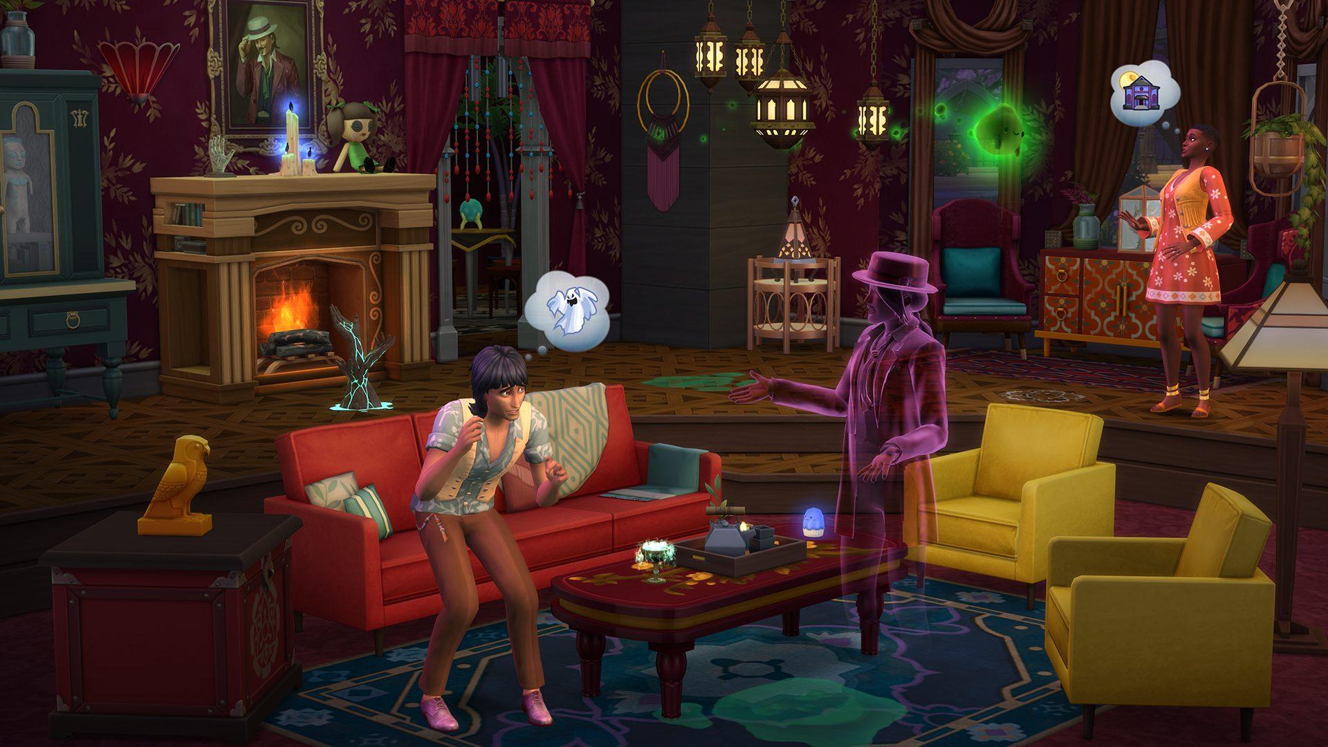 [Blog] The Sims 4 Fenomeni Paranormali Stuff tra abilità di medium e acchiappafantasmi