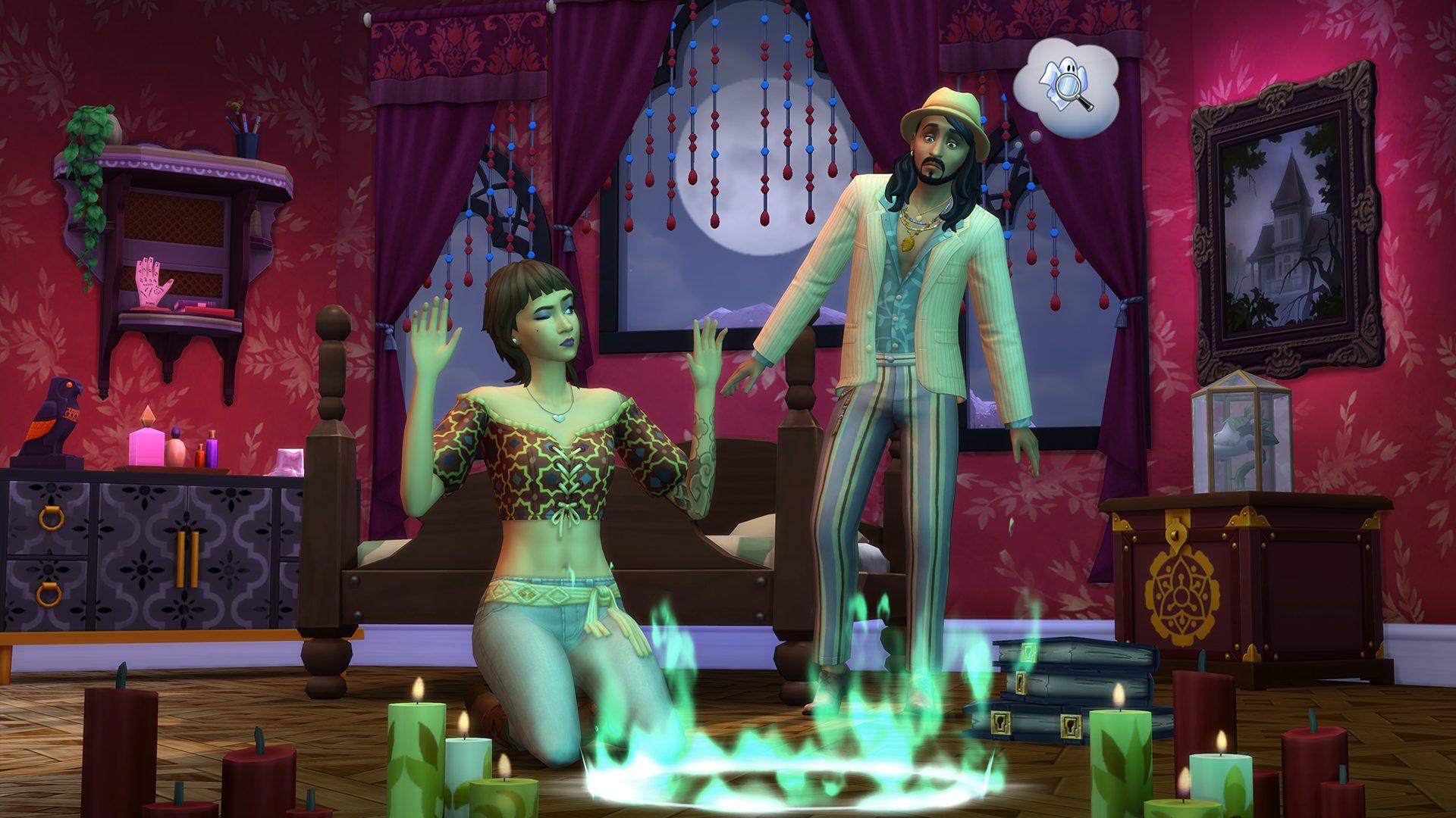 The Sims 4 Fenomeni Paranormali Stuff - Immagini, caratteristiche & data d'uscita
